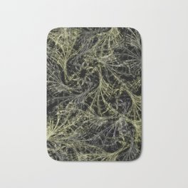 Yellow Magical Wisps Bath Mat