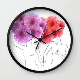 La féminité Wall Clock