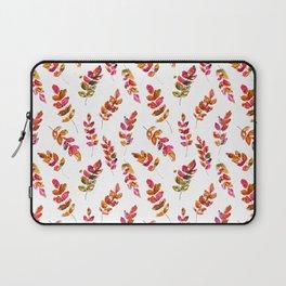 Watercolor fall robinia leaves Laptop Sleeve
