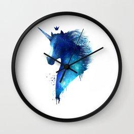 cosmic Unicorn Wall Clock