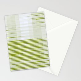 linear. green. fade Stationery Cards