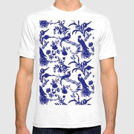 Royal french navy peacock T-shirt