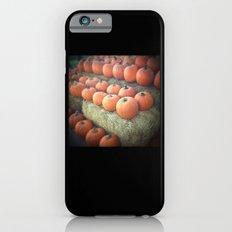 Pumpkins On Display iPhone 6s Slim Case