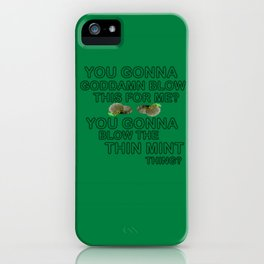 IASIP - Ass Kickers United Against Thin Mints iPhone Case