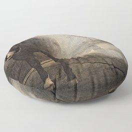 Hot Shoeing Floor Pillow