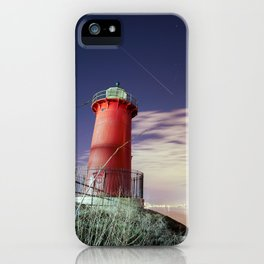 Little Red Light House in Manhattan iPhone Case
