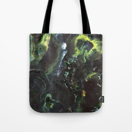 "Color Commentary #4: ""Long Live Duke Leto!"" (Black & Green) [Lys Phillips] Tote Bag"