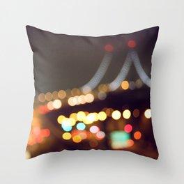 Color Drunk Love III Throw Pillow
