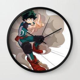 Deku - Midoriya Wall Clock