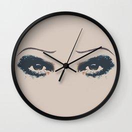 Hedwig Eyes Wall Clock