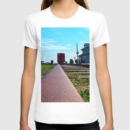 Down the Track and into the Station T-shirt