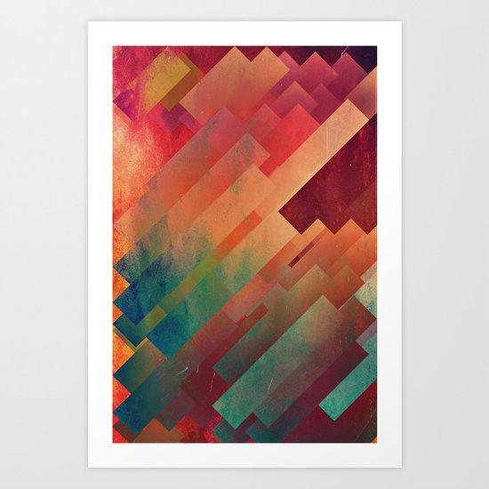slyb ynvyrtz Art Print