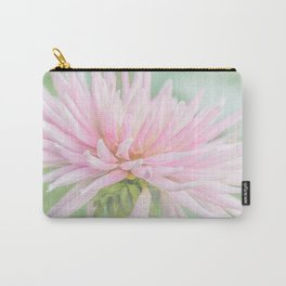 Pink Princess Dahlia Carry-All Pouch