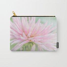 Pink Princess Dahlia Carry-All Pouch