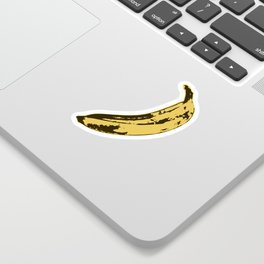 Banana Pop Art for Prints, Posters, Tshirts, Wall Art, Men, Women, Youth Sticker
