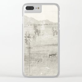 """Vintage Valley"" by Murray Bolesta! Clear iPhone Case"