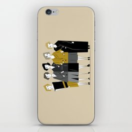 Meet the Bright Young Sisters iPhone Skin