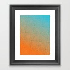 Crank (Gradient) Framed Art Print