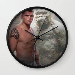 The Vanilla Gorilla Wall Clock