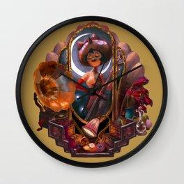 Owl Lady Wall Clock