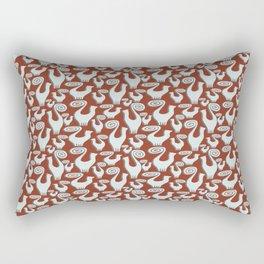 SNOBBY CATS PATTERN Rectangular Pillow