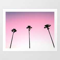 CALIFORNIA GIRLS Art Print