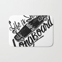 longboard Bath Mat