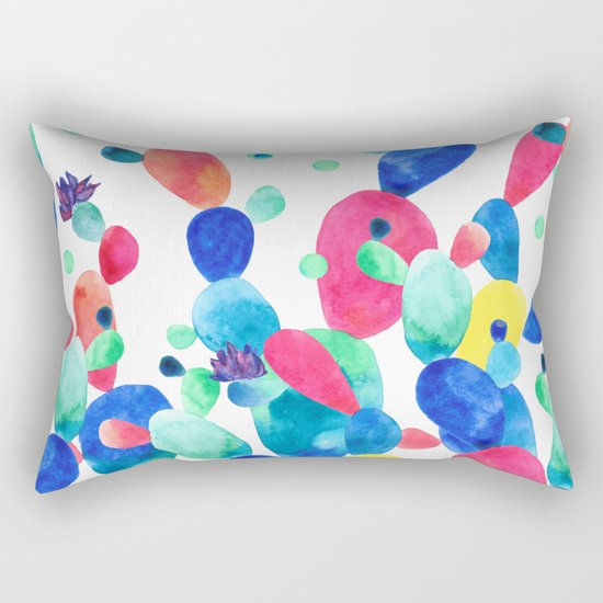 Cacti Confetti Rectangular Pillow