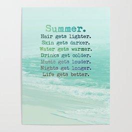 SUMMER by Monika Strigel Poster