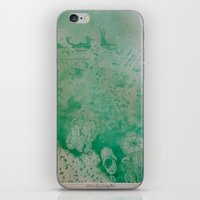 under the sea iPhone & iPod Skins featuring Under The Sea by ANoelleJay