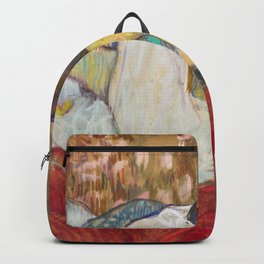 """Henri de Toulouse-Lautrec """"In Bed. The Kiss"""" Backpack"""