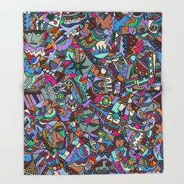 Colorfest Throw Blanket
