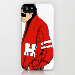 MJ too Cool iPhone Case