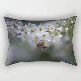 Choke Cherry Blossoms Rectangular Pillow