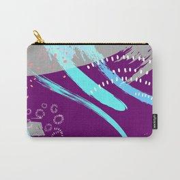 Violet blue splash Carry-All Pouch