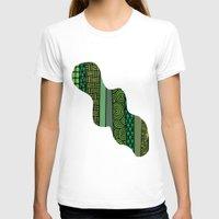 bamboo T-shirts featuring Bamboo by glorya