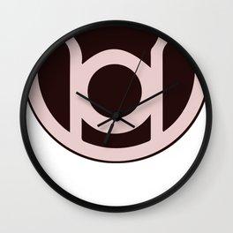 Green Lantern Logo Wall Clock
