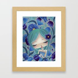 My Blue Heaven Framed Art Print