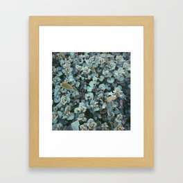 Infinite Shades of Green No. 2 Framed Art Print