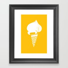 Gelati 3 Framed Art Print