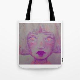 Peachy Pink Missing You Tote Bag
