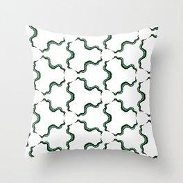Cute Strange Tentacle Print Throw Pillow