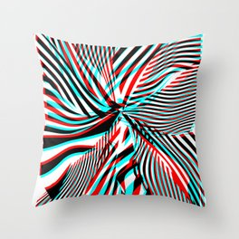 Stereoshift Throw Pillow
