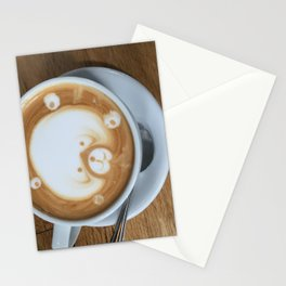 Cute Latte Stationery Cards