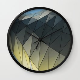 Imaginary Places VII Architectural Design Wall Clock