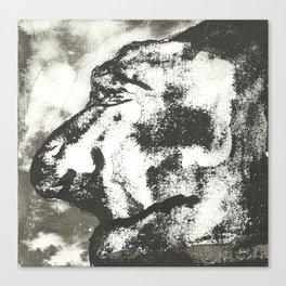 Mounstruo 2 Canvas Print