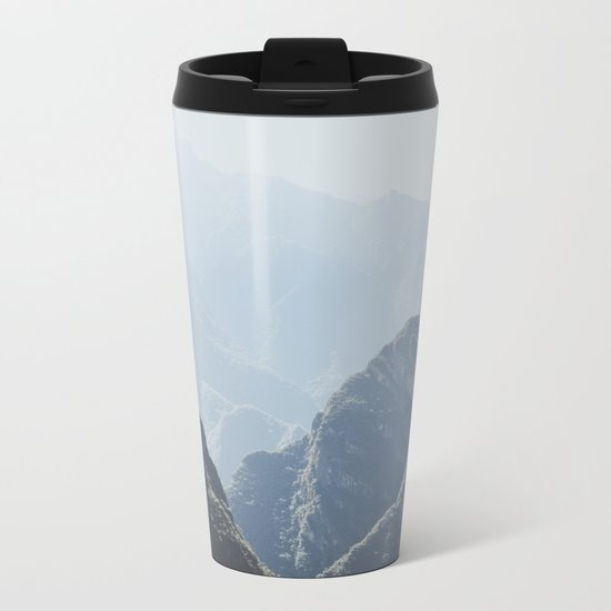 Mountains around Machu Picchu Metal Travel Mug
