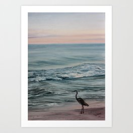 Perdido Key Sunset Art Print