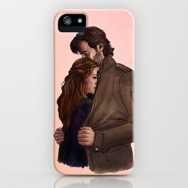 a jacket for two // kabby fanart iPhone Case