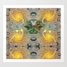 ▼▲►butterfly effect◄▲▼ Art Print